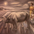 20101002010102-1_anguiano_bulls_and_the_moon_1