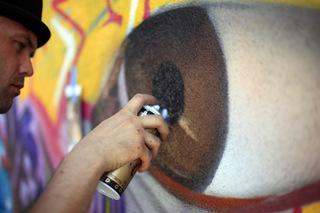 Vox Humana Mural - Boombang, Los Angeles, MA\'Claim