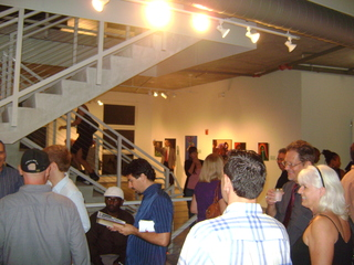 Second Floor During the Opening of LOVE THY LIBERTY,