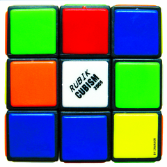 RUBIKCUBISM STICKER , Invader