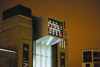 BIG RUBIK INVADER INSTALLATION AT BALTIC MUSEUM NEWCASTLE, Invader