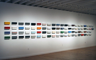 Installation View,Matthew Deleget, David E. Peterson