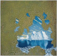 Synthetic Landscape (Iceberg), Shane McAdams