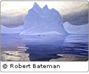 Antarctic Evening—Humpback Whales, Robert Bateman