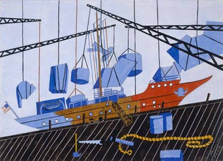 Decommissioning the Sea Cloud,Jacob Lawrence