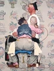The Tattoo Artist, Norman Rockwell