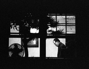 Untitled no.131, Palms, CA 2006, From Night Surveillance Series, Michele Iversen