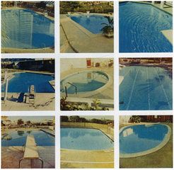 Nine Swimming Pools, Ed Ruscha