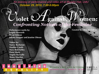 Violet Against Women: Confronting Notions of the Feminine,Shana Moulton, Micol Hebron, Marnie Weber, Elana Mann, Nancy Buchanan, Angela Ellsworth, Mary Reid Kelley, Juliana Snapper, HEATHER CASSILS, Jeanine Oleson, Angela Marzullo