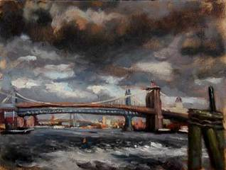 Brooklyn Bridge, Patricia Melvin