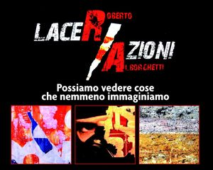 LACER/ACTIONS, OFFICIAL POSTER, Roberto Alborghetti