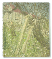 Cherry Tree, Early January 2004,Leon Kossoff