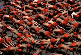 Red Pushups, Roger Camp