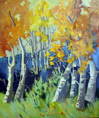 Aspen and Sage Evening, Penny Otwell