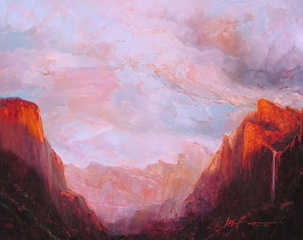 Yosemite View,Joan Hoffmann