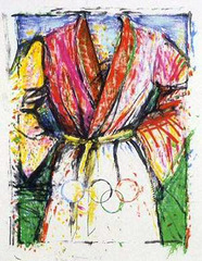 Olympic Robe,Jim Dine