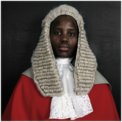 The Honourable Justice Unity Dow, Pieter Hugo