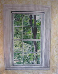 Emily Dickinon Bedroom Window, Meridith McNeal