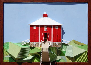 The Red Octagonal Barn,Christie Grimstad