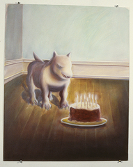 Dog and Cake,Edward Everett Updike