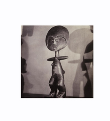 Untitled (Aqua\'ba Figure, Akan), Man Ray