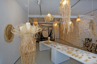 \'The Lacemaker\' installation shot,