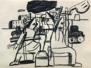 Untitled, Philip Guston