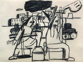Untitled, Philip Guston