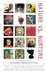 """Nature Vs. Nurture"" poster,"