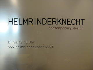 HELMRINDERKNECHT contemporary design,