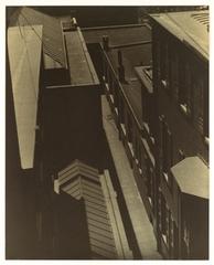 View of Rooftops, Morton Schamberg