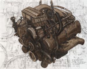 Engine Work , Chester Arnold