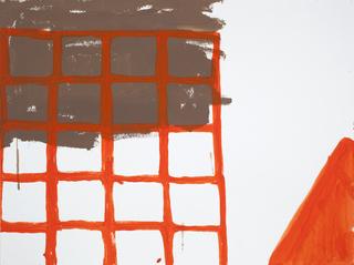 Construction Fencing / Cone, Lizzie Scott