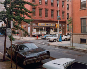 Twentieth St. and Spruce St., Philadelphia, PA, 6/21/74,Stephen Shore