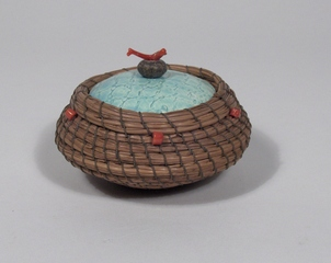 Widdled Basket, Melissa Woodburn