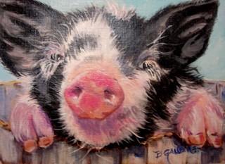 Smiling Pig, Benita Gaudier