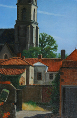 French Village, Jane Casner Mothersill
