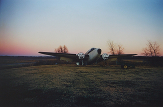 Twinkle Town Airport at Sunrise,William Eggleston