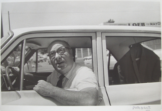 Man in Car,William Eggleston