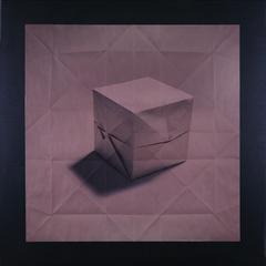 Origami cube, Marc Fichou