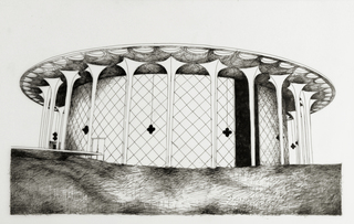 Beckman (Nothing else like this cake-like stone amphitheatre, Cal Tech Campus),Deborah Aschheim