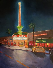 Alex at Night, Dick Heimbold