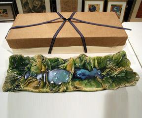 Oribe Glazed Platter,