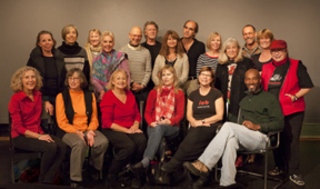 ICB Winter Open Studio artists,