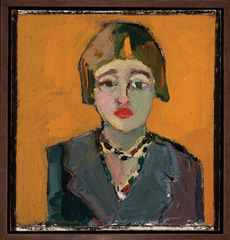 Self Portrait, Joan Brown