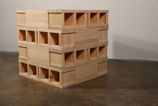 4 x 4 Wooden Stack, Scott Ingram