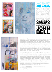 Aqua2010 Show Card , john bell