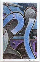 Gouache 11 ,William Conger