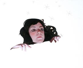 Self Portrait as an Inomniac Soothsayer, Jenna Gribbon