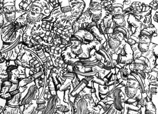 Santa Claus vs. Mid-Earth Elves, Ernest Concepcion